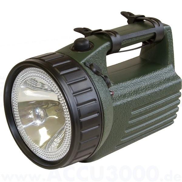 Ampercell Scout LED Akkuhandscheinwerfer / Notleuchte - Wiederaufladbarer Handstrahler