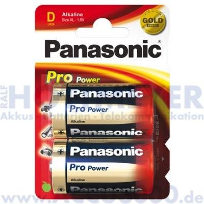Panasonic ProPower LR20PPG Mono D - 1.5V, 2er Pack