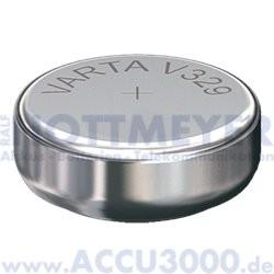 Varta Silber 329 (V329) - SR731SW, 1.55V - Uhrenbatterie