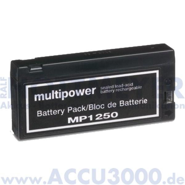 12V, 2.0Ah (C20), Multipower MP1250