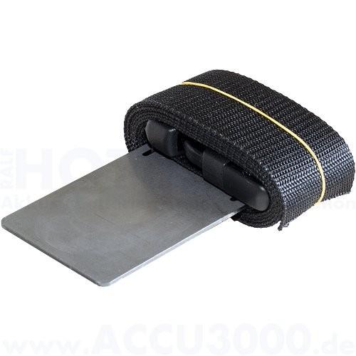 Sila F1020range Gurthalter - mit Metallplatte