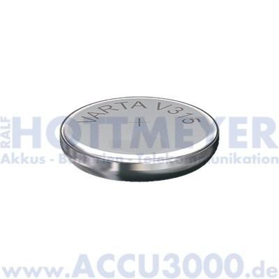 Varta Silber 315 (V315) - SR-67 - SR716SW, 1.55V - Uhrenbatterie