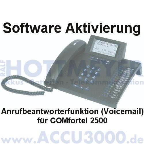 Auerswald COMfortel 2500 Software Aktivierung