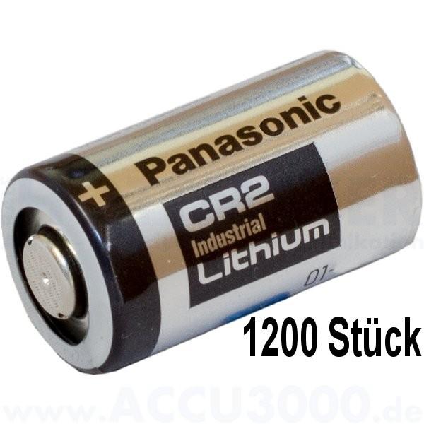 Panasonic Industrial Lithium CR-2, CR17355 - 3V - 1200 Stück Bulkware