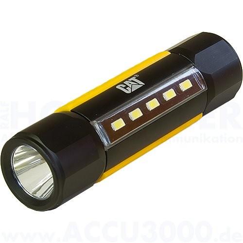 CAT CT3410 Dual Beam Taktische Taschenlampe - 275 / 200 Lumen