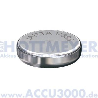 Varta Silber 395 (V395) - SR-57 - SR927SW, 1.55V - Uhrenbatterie