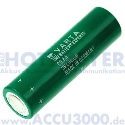 Varta CR AA - 3.0V, 2000mAh - 14.8 x 50.5mm, AA