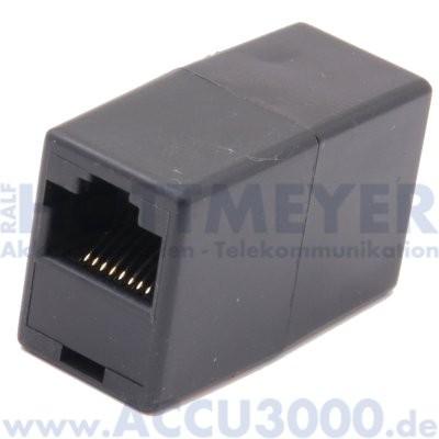 Verbinder für Modularstecker RJ45 (8/8) - Kupplung/Kupplung