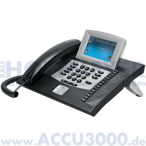 Auerswald COMfortel 2600 - schwarz - Systemtelefon mit TFT-Touchdisplay