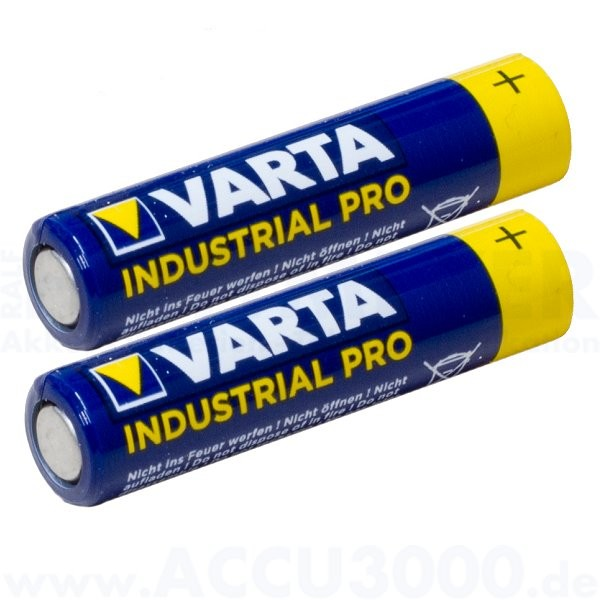 Varta INDUSTRIAL PRO Mignon AA, LR6, Alkaline - 1.5V, 2er Folie