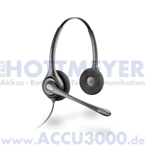Plantronics HW261N/A SupraPlus Wideband Binaural - Noise Cancelling (NC)