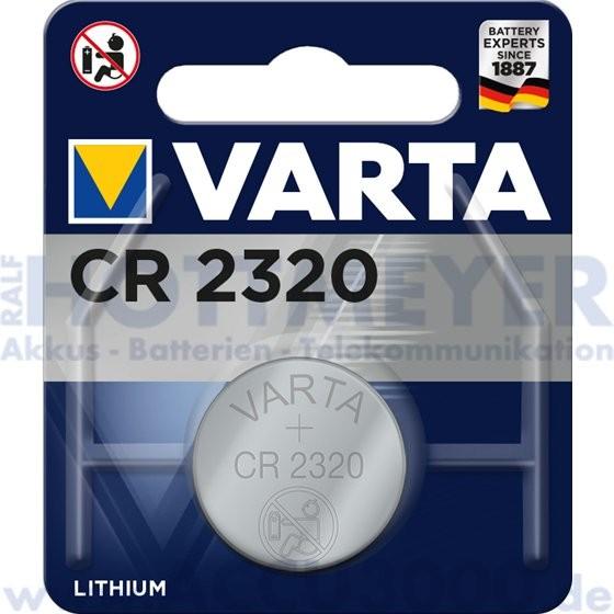 Varta Lithium CR-2320 - 3V Knopfzelle