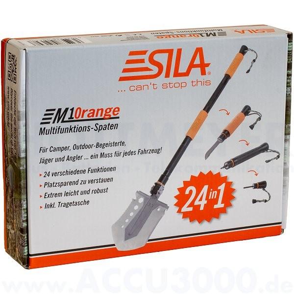 Sila M10range Multifunktions-Spaten inkl. Aufbewahrungstasche