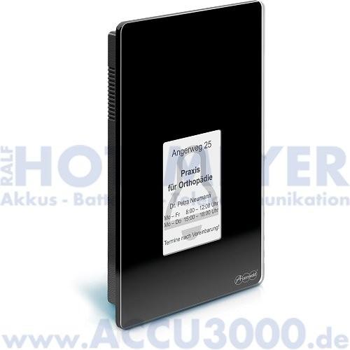 Auerswald TFS Dialog 400, schwarz - Türfreisprechsystem