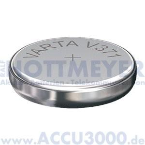 Varta Silber 371 (V371) - SR-69 - SR920SW, 1.55V - Uhrenbatterie