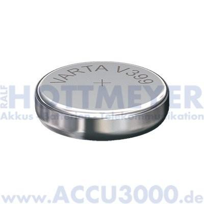 Varta Silber 399 (V399) - SR-57 - SR927W, 1.55V - Uhrenbatterie, High Drain