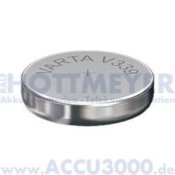 Varta Silber 339 (V339) - SR614SW, 1.55V - Uhrenbatterie