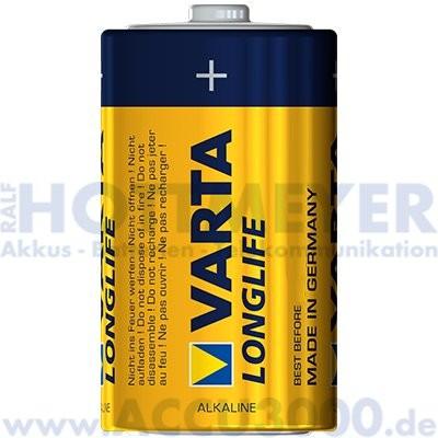 Varta LONGLIFE Mono D - 1.5V - 20 Stück lose