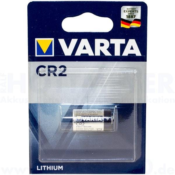Varta Lithium CR-2, CR17355, CR15H270 - 3.0V