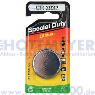 Beco CR-3032 - 3V, 500mAh - 30 x 3.2mm