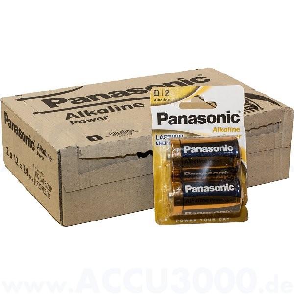 Panasonic Power LR20AP Mono D - 1.5V - 12x 2er Pack