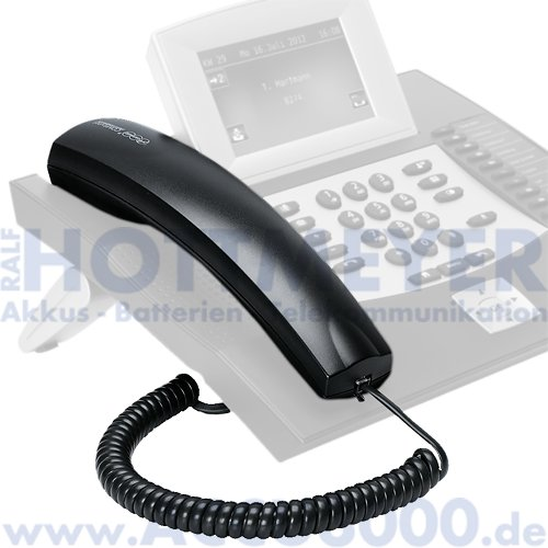 Auerswald COMfortel Wideband-Hörer schwarz