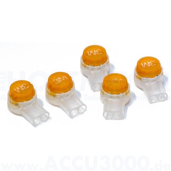 Einzeladerverbinder - für Adern 0.4 - 0.9mm - 100 Stück