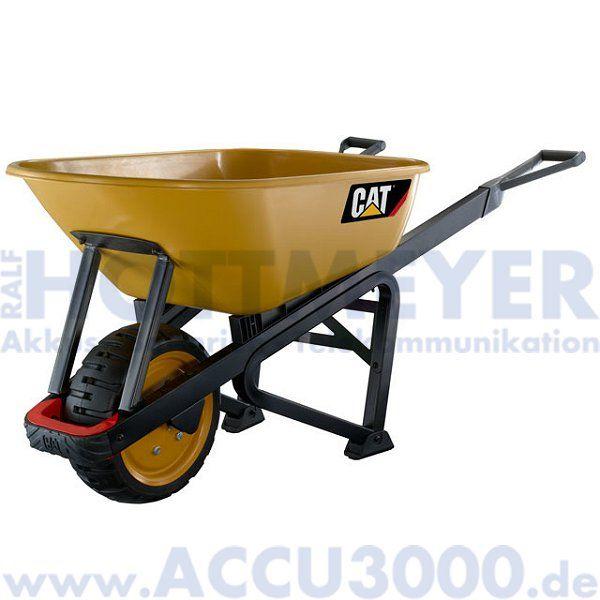 CAT Schubkarre 170L-Kunststoffwanne - Premium