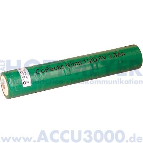Akku f. MAG-LITE® Charger - 6.0V, 3500mAh, NiMh