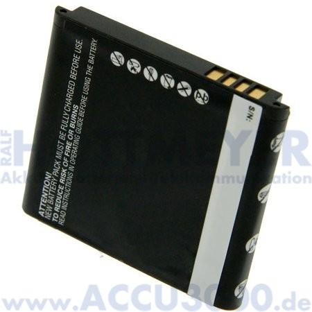 Akku f. HTC T5555 - 900mAh, Li-Ion - Kompatibler Handyakku