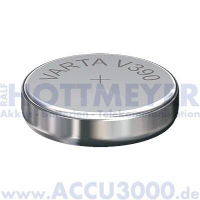 Varta Silber 390 (V390) - SR-54 - SR1130SW, 1.55V - Uhrenbatterie