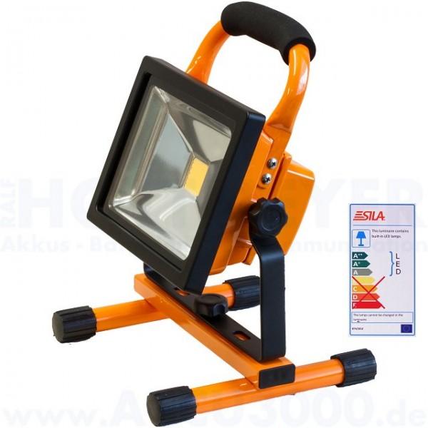 Sila F1020range LED 20W Akku-Arbeitsscheinwerfer