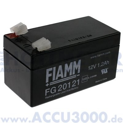 12V, 1.2Ah (C20), Fiamm FG20121