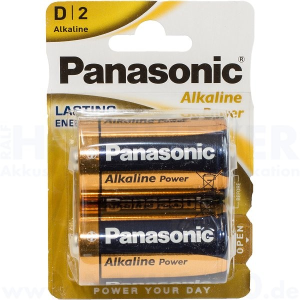 Panasonic Power LR20AP Mono D - 1.5V - 2er Pack