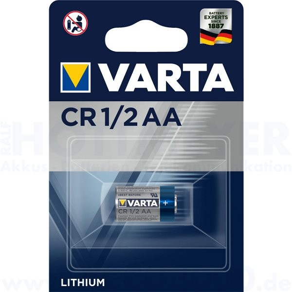 Varta Lithium CR1/2AA, CR14250 - 3.0V