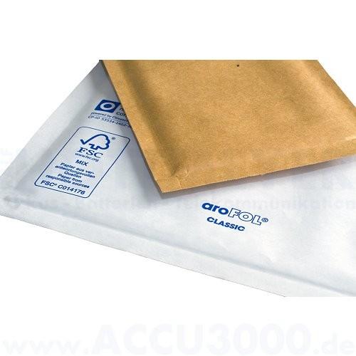 Arofol® Classic W 8 - braun Luftpolster-Versandtaschen