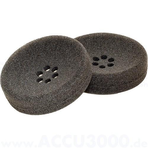 Plantronics Ohrpolster, 2 Stück - Schaumstoffkissen für Headset SupraPlus Wireless