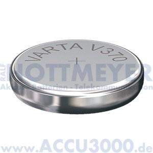 Varta Silber 370 (V370) - SR-69 - SR921W, 1.55V - Uhrenbatterie, High Drain