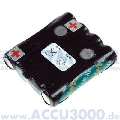 Akku f. Audioline PMR Easy 8, PMR Easy 9... - 4.8V, 720mAh, NiMh