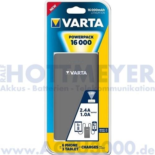 Varta Powerpack 16000 - Powerpack mit 16.000mAh