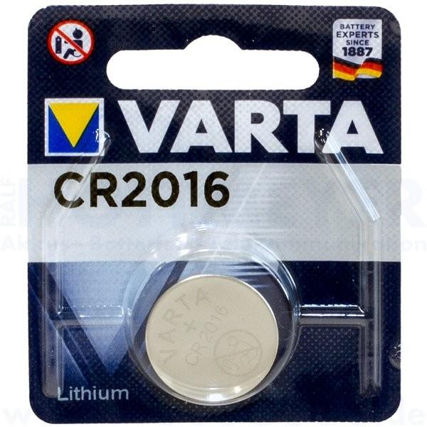 Varta Lithium CR-2016 - 3V Knopfzelle