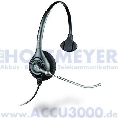 Plantronics HW251/A SupraPlus Wideband Monaural - Schnurgebundenes Headset