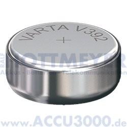 Varta Silber 392 (V392) - SR-41 - SR736W, 1.55V - Uhrenbatterie, High Drain