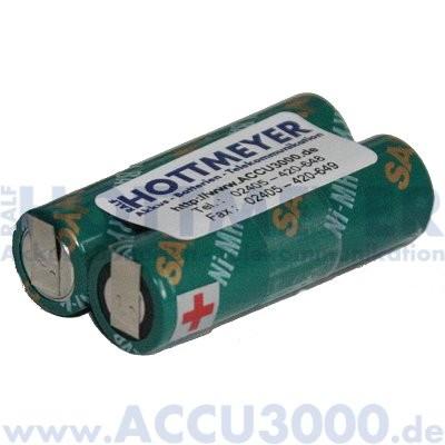 Akku f. Opticon PHL1600 - 2.4V, 1600mAh, NiMh